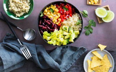 Découvrez la salade Mexicaine de L'Effet Papillon !